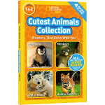 英文原版 National Geographic Kids Cutest Animals Collection 4个故