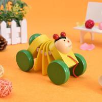 新品宝宝拖拉学步玩具拉车婴儿幼儿拖拉儿童手拉绳拉线玩具车