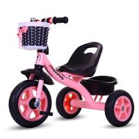 儿童三轮车脚踏手推车1-3-2-6-5周岁宝宝小车子大号男孩女孩轻便4