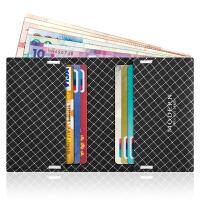 屏蔽卡包小钱包男钱夹黑科技NFC防盗刷防消磁卡套