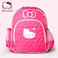 Hello Kitty凯蒂猫 KT1045玫红 女童书包甜美淑女双肩包EVA幼儿园书包 当当自营