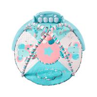健身架 婴儿婴儿脚踏钢琴健身架0-1岁宝宝音乐游戏毯新生儿益智玩具A HELLO BABY