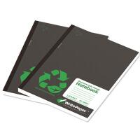 凯萨(KAISA) A4软抄本黑色封面(80页/2本装)70g纸横线本 美式笔记本 学生本 办公记事本 日记本 精美本