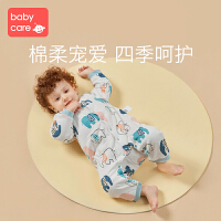 babycare��哼B�w衣�棉新生�阂路�6-24��月中�_扣秋冬款�B�w爬服