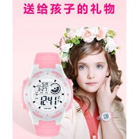 儿童电子手表女孩运动防水夜光中小学生多功能男孩数字式女童手表
