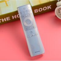 海信电视遥控器保护套 CRF3A69 新款语音遥控器套 透明硅胶套情人节礼物 透明