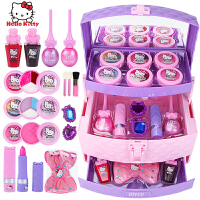 儿童化妆品套装女孩公主彩妆口红玩具5岁生日礼物 专业手提化妆箱 【送化妆刷套装】