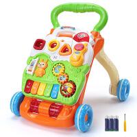 宝宝学步推车可调速防侧翻婴儿学走路助步车7-18月/1-2岁个学步车手推车