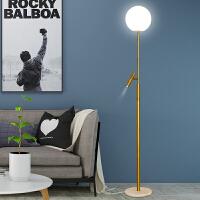 落地灯卧室客厅落地式台灯网红ins风轻奢立式台灯落地灯北欧