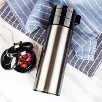 真空保温杯 男女士商务车载泡茶杯 便携真空不锈钢水杯子