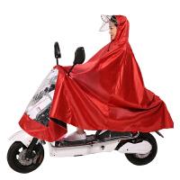 雨衣电动车单人摩托车雨披男女士加大加厚电瓶车雨衣