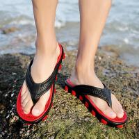 男士人字拖夏季防滑户外凉拖防水拖鞋男速干夏天旅游沙滩鞋潮