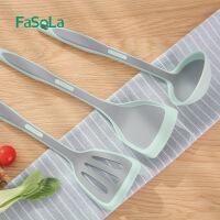 FaSoLa不粘锅专用耐高温尼龙铲硅胶厨房家用炒菜铲子汤勺铲勺不伤锅