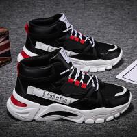 2021新款男鞋男士运动鞋增高鞋子厚底老爹鞋男款休闲鞋