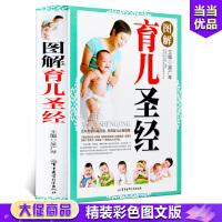 精装彩图版 图解育儿圣经 育儿经 育儿百科全书 育儿书籍3-6岁父母读 育儿书籍 0-3岁新生儿 怀孕备孕婴幼儿新生儿护