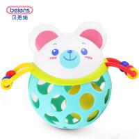 婴儿玩具摇铃0-3-6-12个月 宝宝新生儿早教玩具0-1岁