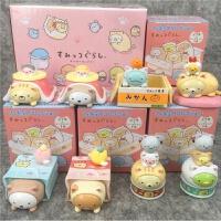 角落生物盲盒日本场景墙角卡通娃娃机公仔玩偶摆件盒弹扭蛋全8款 角落生物场景版