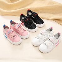 回力童鞋2020夏季新款儿童透气网眼鞋女童鞋子卡通可爱休闲小白鞋