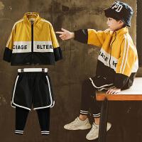 童装男童秋装套装中大儿童春秋款衣服男孩运动两件套