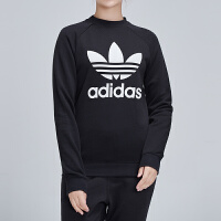 Adidas阿迪达斯三叶草女装2019春季新款运动服圆领卫衣DV2612
