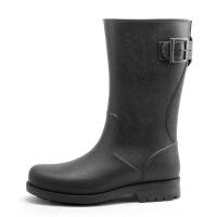 新品秋冬新款水鞋中筒水靴防水雨靴厨房套鞋防滑胶鞋户外雨鞋男