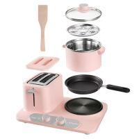 六一儿童节520Donlim/东菱 DL-3405烤面包片三合一早餐机家用多功能小型多士炉520礼物