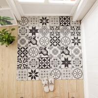 ins进门入户门门口门厅地垫简约北欧厨房脚垫定制可剪裁地毯定制