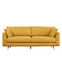 【品牌特惠】北欧布艺沙发小户型现代简约单人双人三人位客厅卧室日式轻奢家具