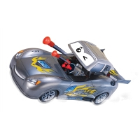 遥控车电动车 车盖可以打开发射导弹 四轮驱动玩具车BLF