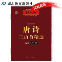 中国好字帖 唐诗三百首精选 王正良行书