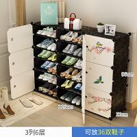 鞋架简易经济型收纳多层组装防尘小特价多功能门口家用省空间鞋柜