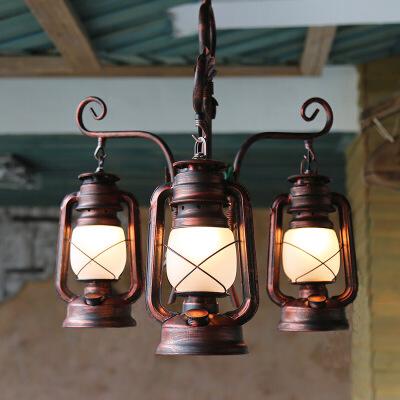 美式乡村主题餐厅灯吊灯 创意咖啡屋茶楼酒吧会所设计师吊灯 复古个性马灯吊灯具 发货周期:一般在付款后2-90天左右发货,具体发货时间请以与客服协商的时间为准