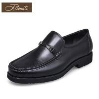 宾度男鞋新品中年男士鞋子爸爸鞋软底透气商务休闲鞋男