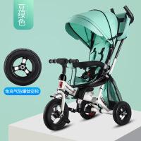 婴幼儿童三轮车脚踏车折叠1-3-5旋转座椅宝宝手推车童车