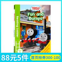 托马斯和朋友们Thomas and Friends Fun and Bumps英文原版分级阅读入门级Reading L