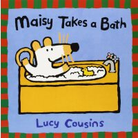 Maisy Takes a Bath小鼠波波洗澡ISBN9780763610845