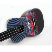支持货到付款 vorson 彩印 ukulele 尤克里里 乌克丽丽 标准弦长 乌克丽丽小四弦专业音准 夏威夷小吉他