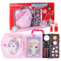 儿童化妆品公主彩妆盒套装女童过家家玩具女孩4-6-7-10岁