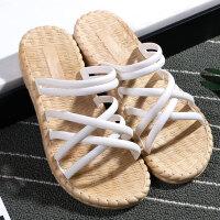 限时特价2020夏季女士凉鞋ins 两穿百搭网红休闲软平底新款韩沙滩凉半拖鞋