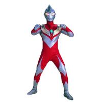 迪迦奥特曼皮套 cosplay儿童节服装 超人服装 迪迦奥特曼衣服 儿童奥特曼服装