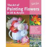【预订】The Art of Painting Flowers in Oil & Acrylic: Discover