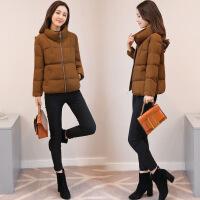 棉衣女短款冬季新款韩版修身显瘦羽绒女士小款棉袄外套潮