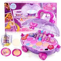 儿童化妆品套装安全公主彩妆盒演出口红小女孩生日玩具