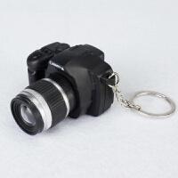 玩具照相机 儿童玩具迷你仿真照相机模型暴力熊钥匙扣 带闪光灯快门声音