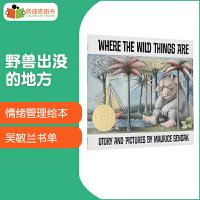 凯迪克图书 野兽出没的地方 Where the Wild Things Are 美国进口英语英文原版绘本 1964年凯