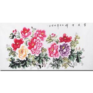 中国著名花鸟画家余传宝先生作品――富 贵 吉 祥