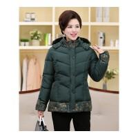 中年女装冬装大码中长款厚棉袄40中老年人50岁妈妈装羽绒棉衣外套