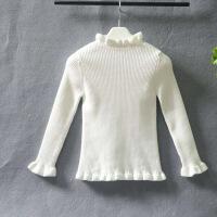 女童毛衣套头打底衫秋冬新款儿童针织衫加绒加厚童装女孩毛衣