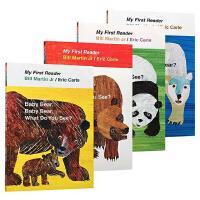 brown bear What Do You See 棕熊你看到了什么 英文原版绘本 艾瑞卡尔爷爷 Eric Carle 4册平装
