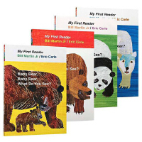 brown bear What Do You See 棕熊你看到了什么 进口英文原版绘本 艾瑞卡尔爷爷 Eric Ca